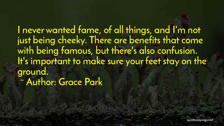 Park feet grace Grace Park