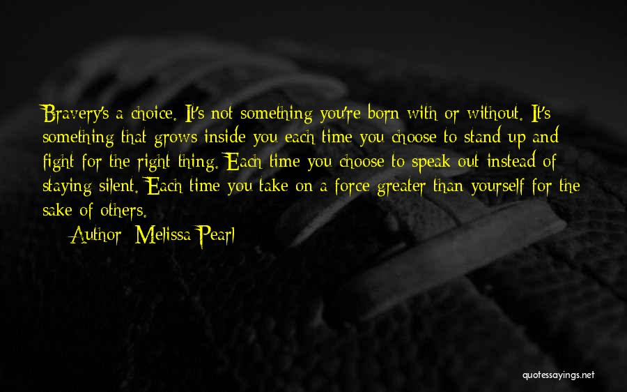 Staying In The Fight Quotes By Melissa Pearl