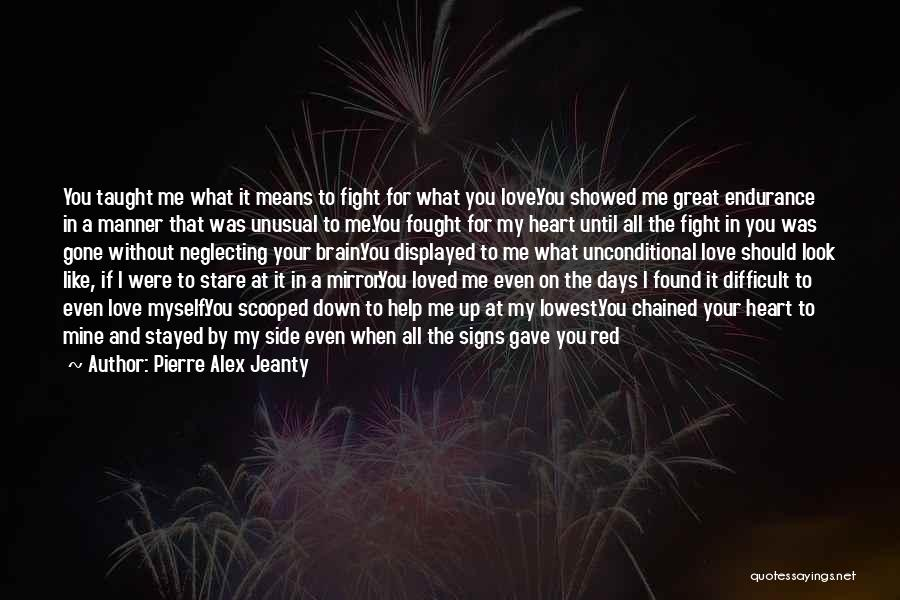 Staying In The Fight Quotes By Pierre Alex Jeanty