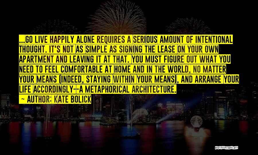 Staying Single Quotes By Kate Bolick