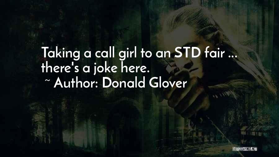 Std Quotes By Donald Glover