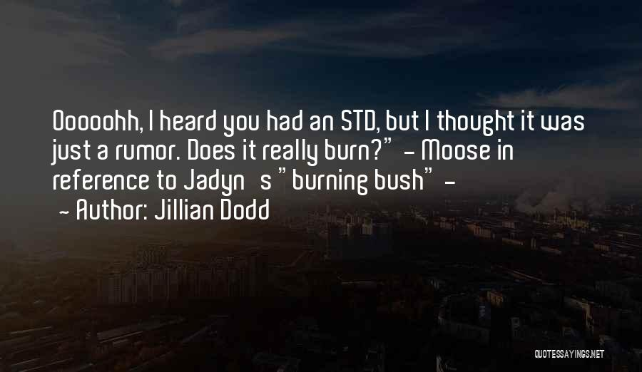 Std Quotes By Jillian Dodd
