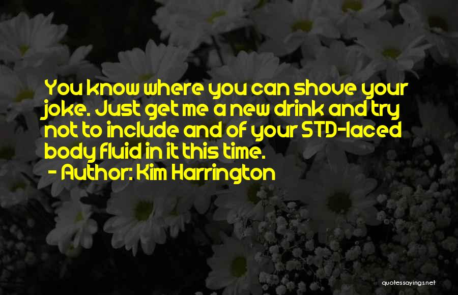 Std Quotes By Kim Harrington