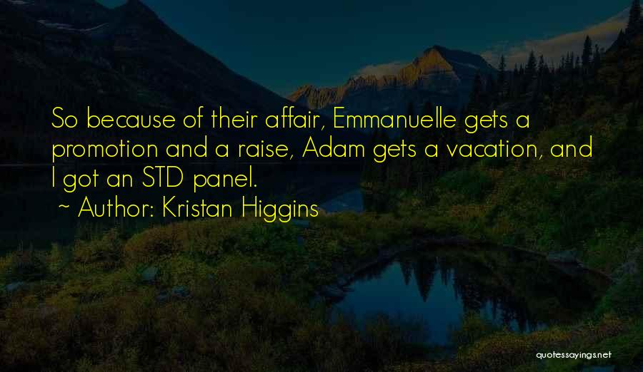 Std Quotes By Kristan Higgins