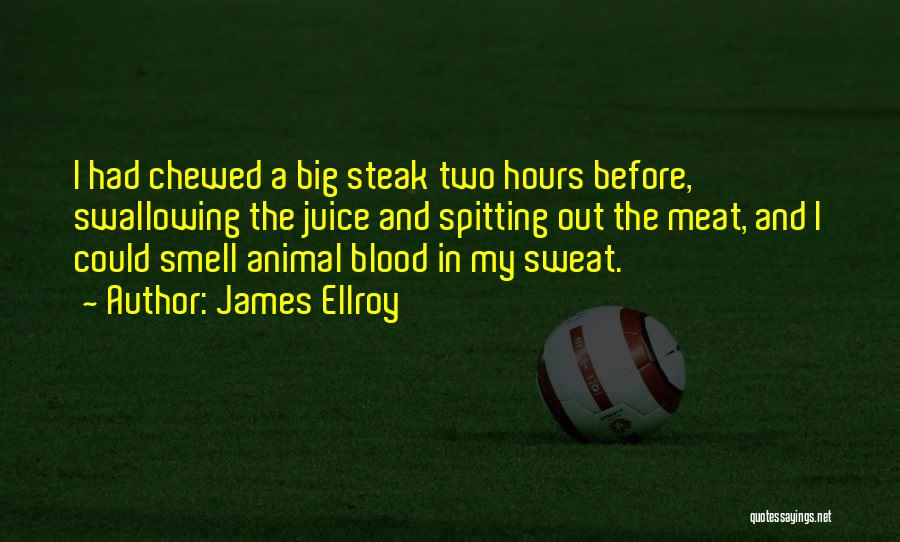 Steak Out Quotes By James Ellroy