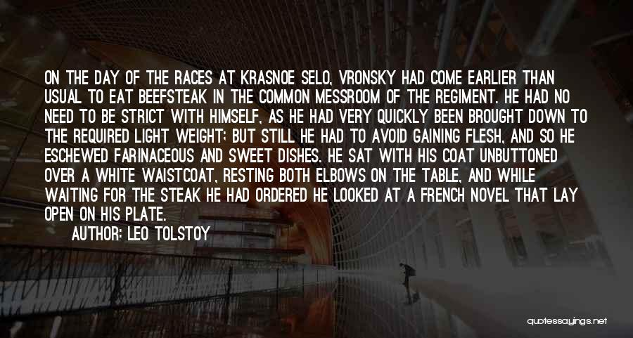 Steak Out Quotes By Leo Tolstoy