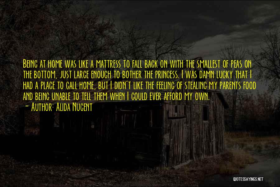 Stealing Home Quotes By Alida Nugent