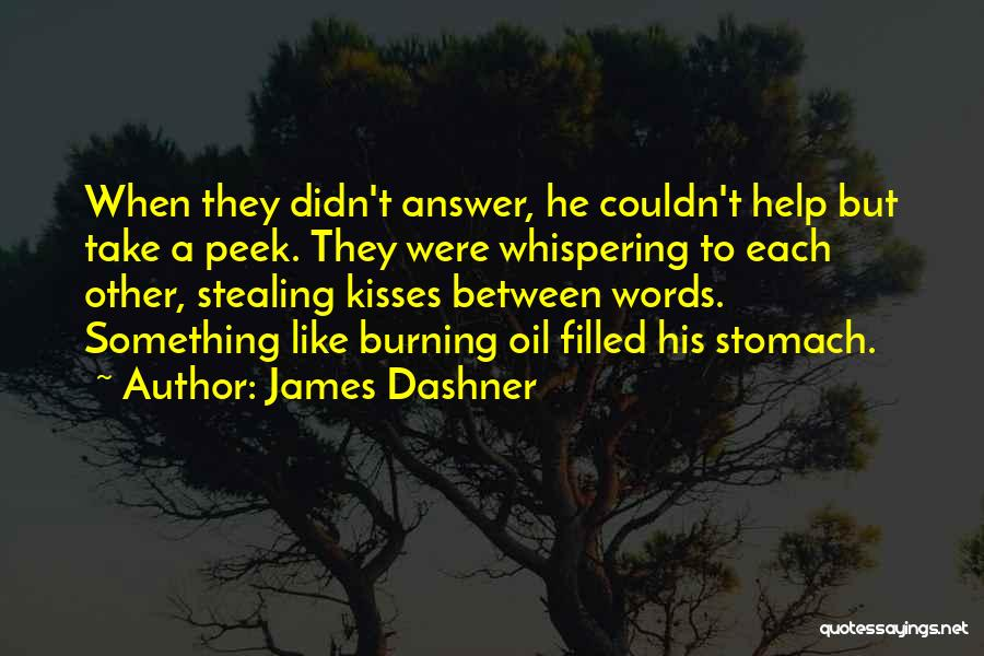 Stealing Something Quotes By James Dashner