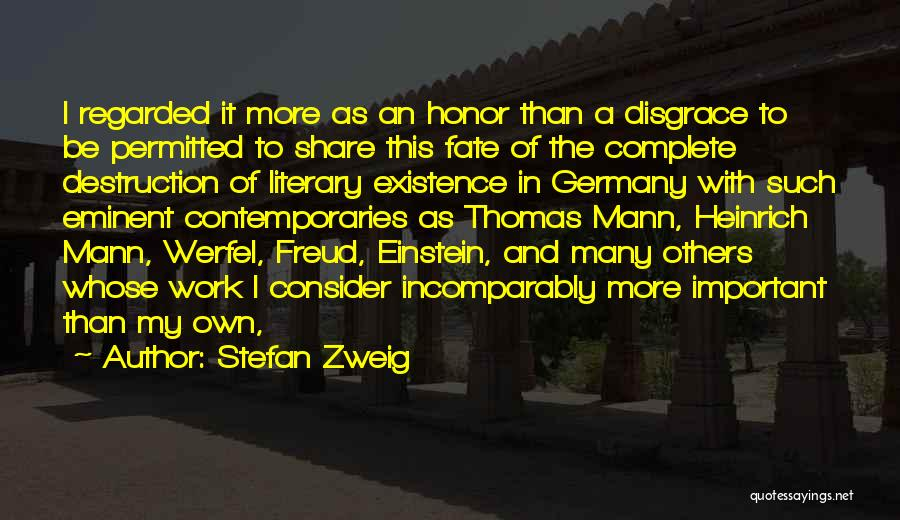 Stefan Zweig Quotes 1576709