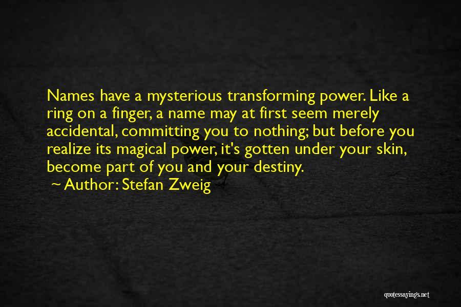 Stefan Zweig Quotes 599581