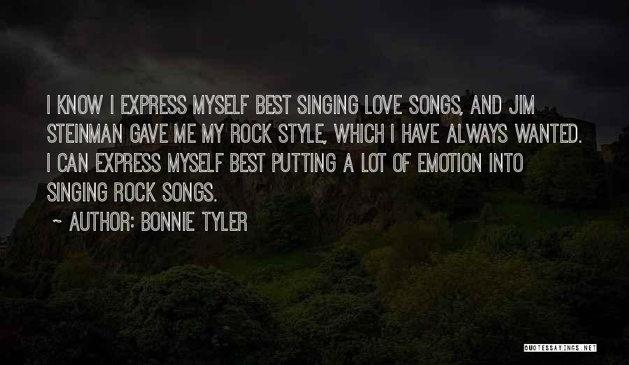 Steinman Quotes By Bonnie Tyler