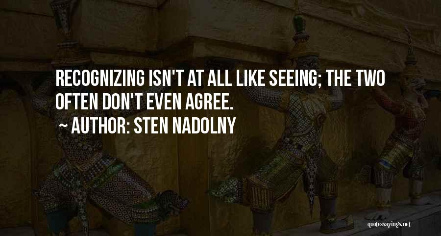 Sten Nadolny Quotes 1034454