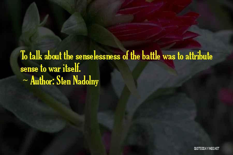 Sten Nadolny Quotes 1409715