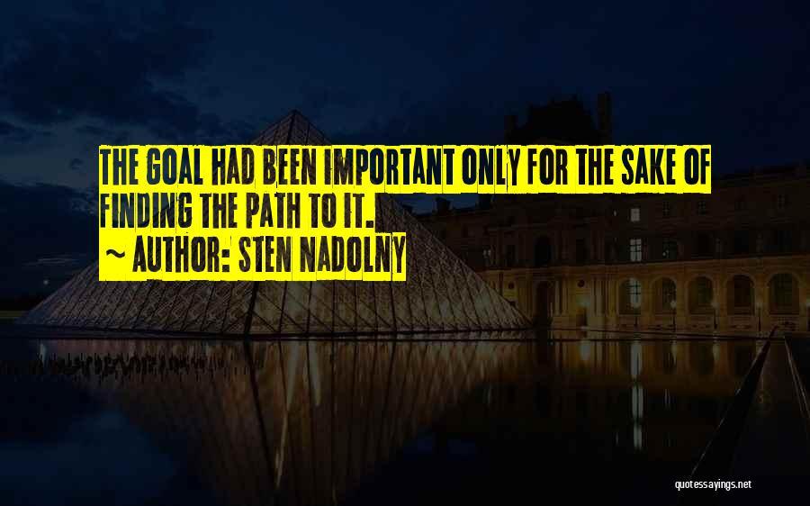 Sten Nadolny Quotes 1505049