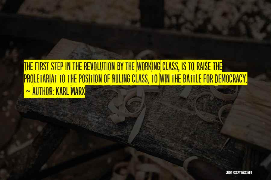 Step Up 4 Revolution Quotes By Karl Marx