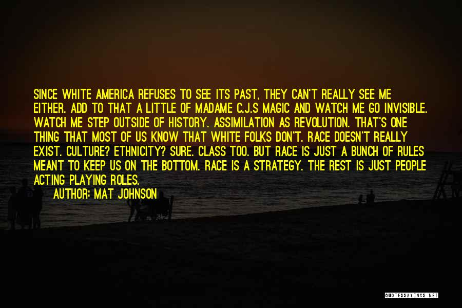Step Up 4 Revolution Quotes By Mat Johnson