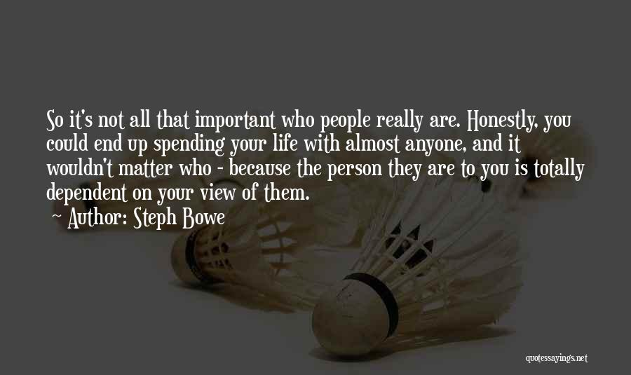 Steph Bowe Quotes 480634