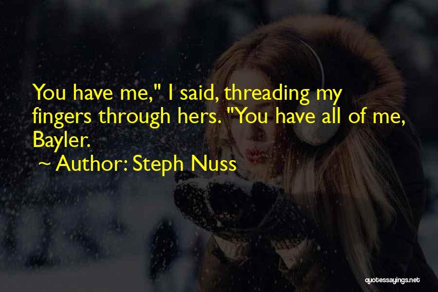 Steph Nuss Quotes 1808434
