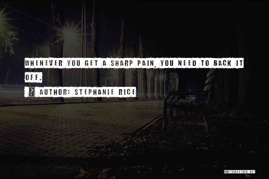Stephanie Rice Quotes 1240768