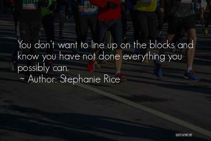 Stephanie Rice Quotes 2209252
