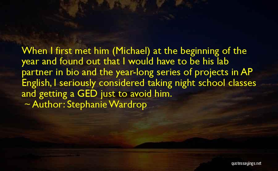 Stephanie Wardrop Quotes 1678150