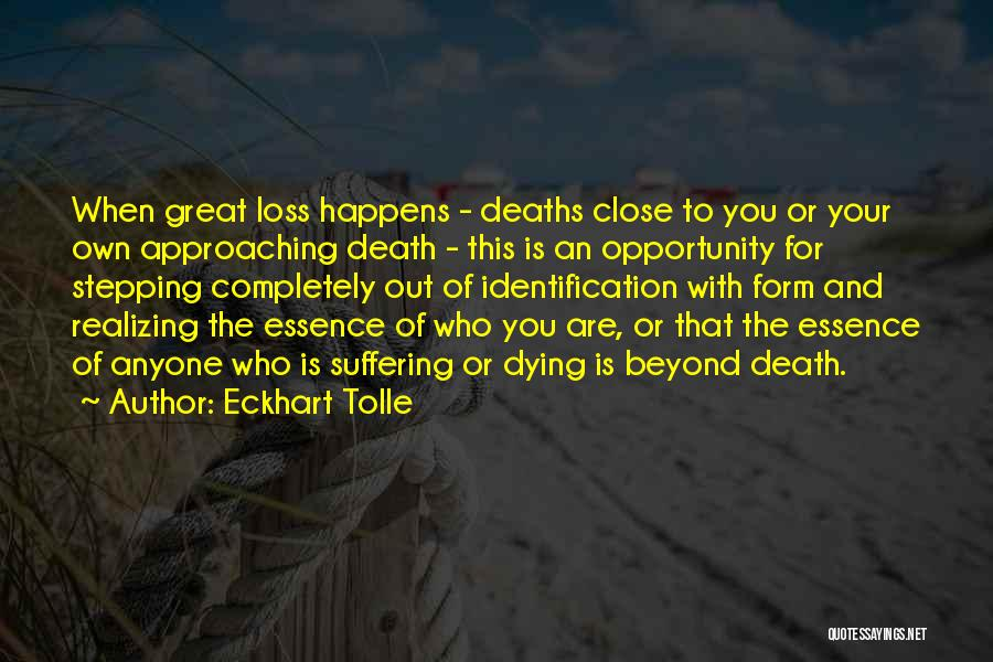 Stepping Out Quotes By Eckhart Tolle