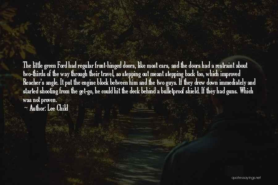 Stepping Out Quotes By Lee Child