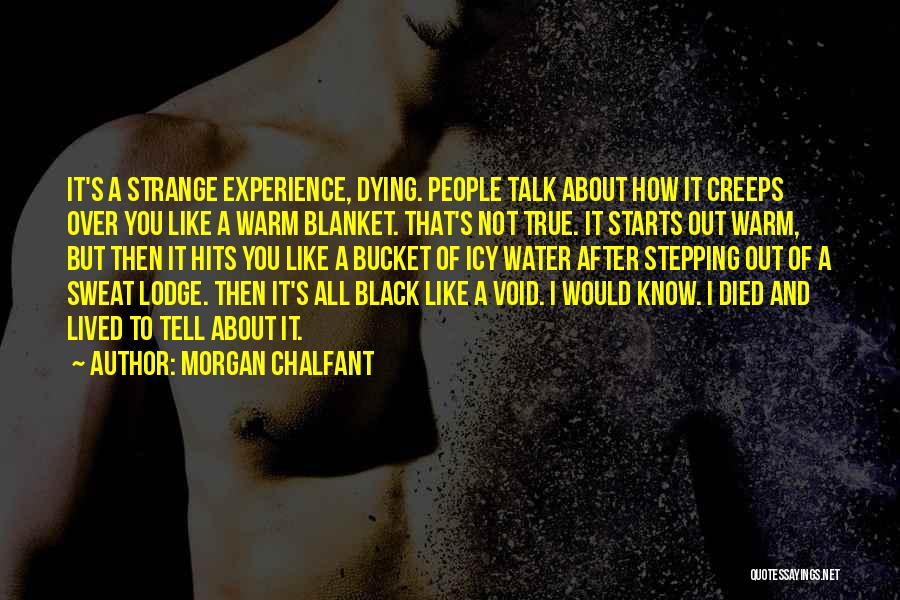Stepping Out Quotes By Morgan Chalfant