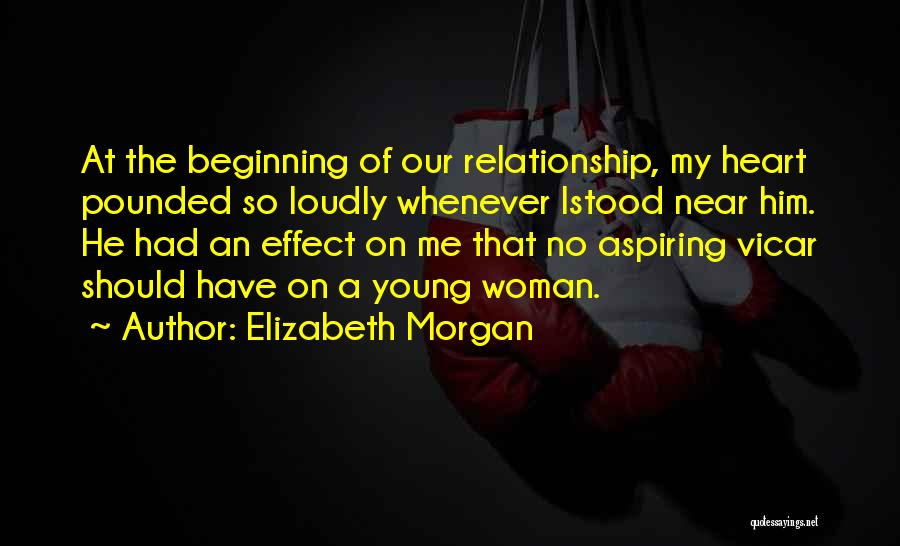 Stepping Up In A Relationship Quotes By Elizabeth Morgan