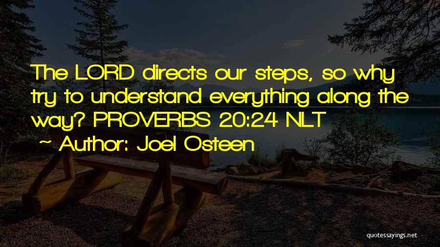 Steps Along The Way Quotes By Joel Osteen