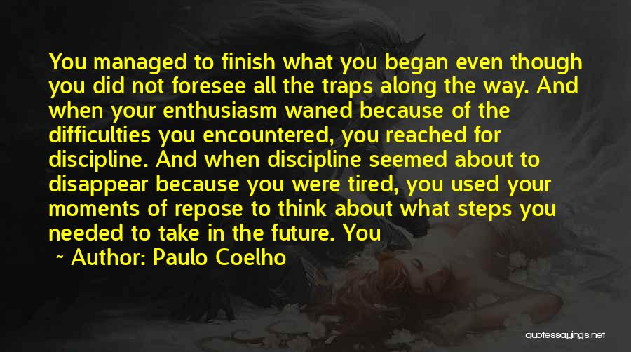 Steps Along The Way Quotes By Paulo Coelho
