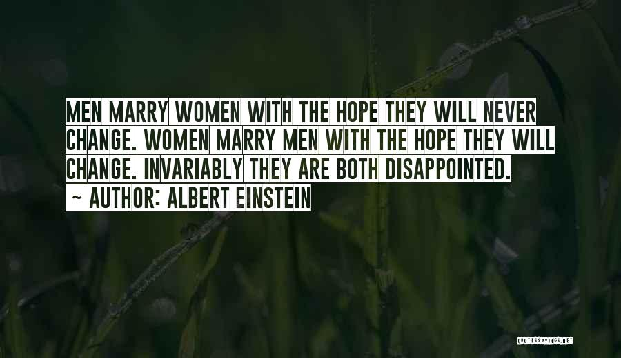 Stereotypes Gender Quotes By Albert Einstein