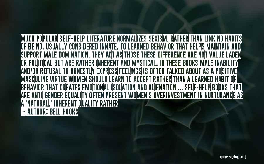 Stereotypes Gender Quotes By Bell Hooks