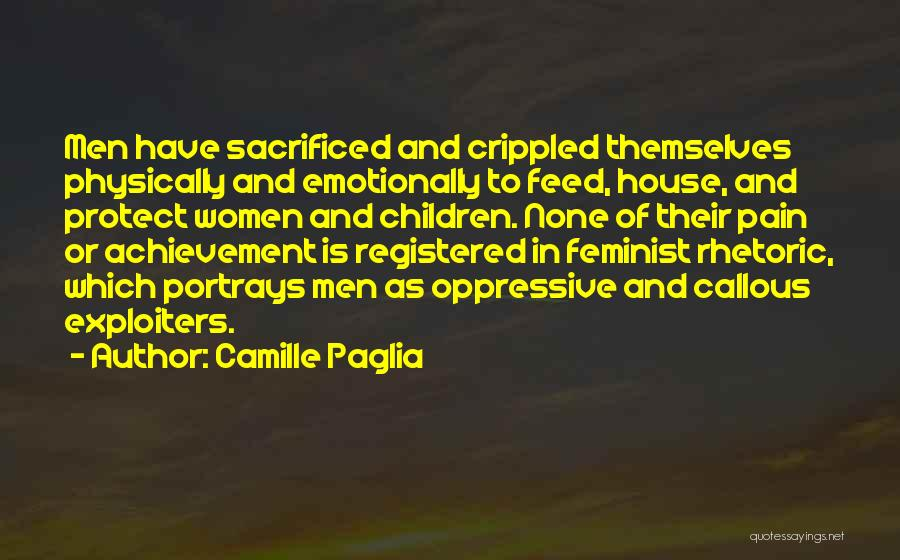 Stereotypes Gender Quotes By Camille Paglia
