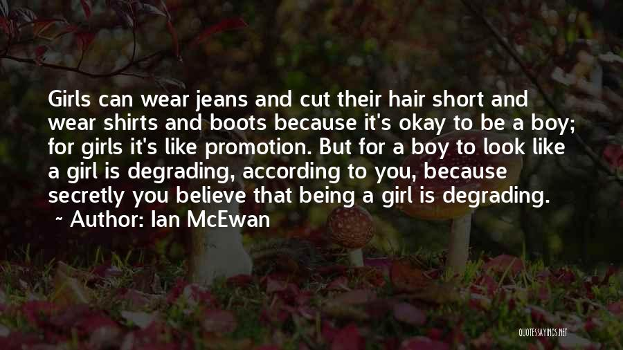 Stereotypes Gender Quotes By Ian McEwan