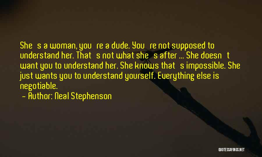 Stereotypes Gender Quotes By Neal Stephenson