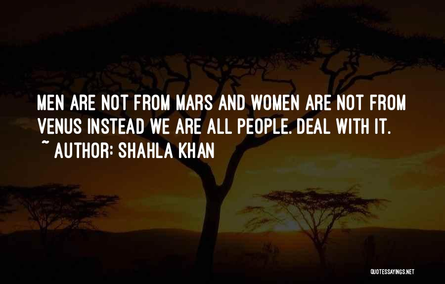 Stereotypes Gender Quotes By Shahla Khan