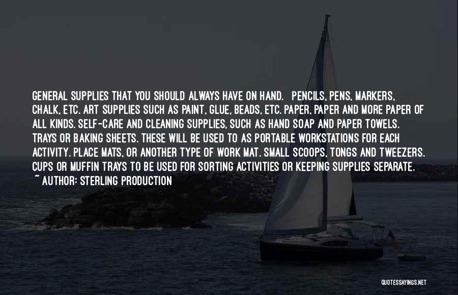 Sterling Production Quotes 860793