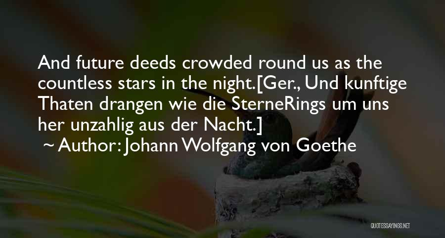 Sterne Quotes By Johann Wolfgang Von Goethe