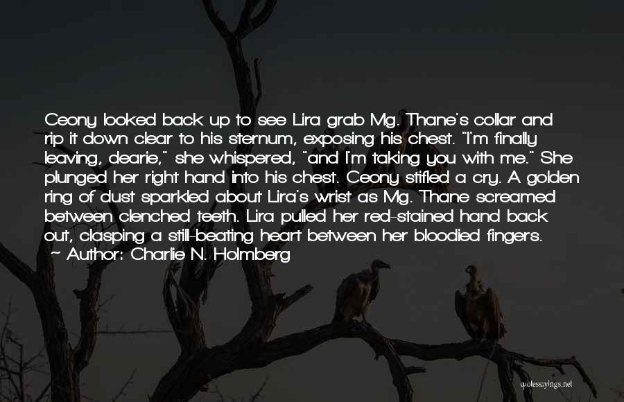 Sternum Quotes By Charlie N. Holmberg