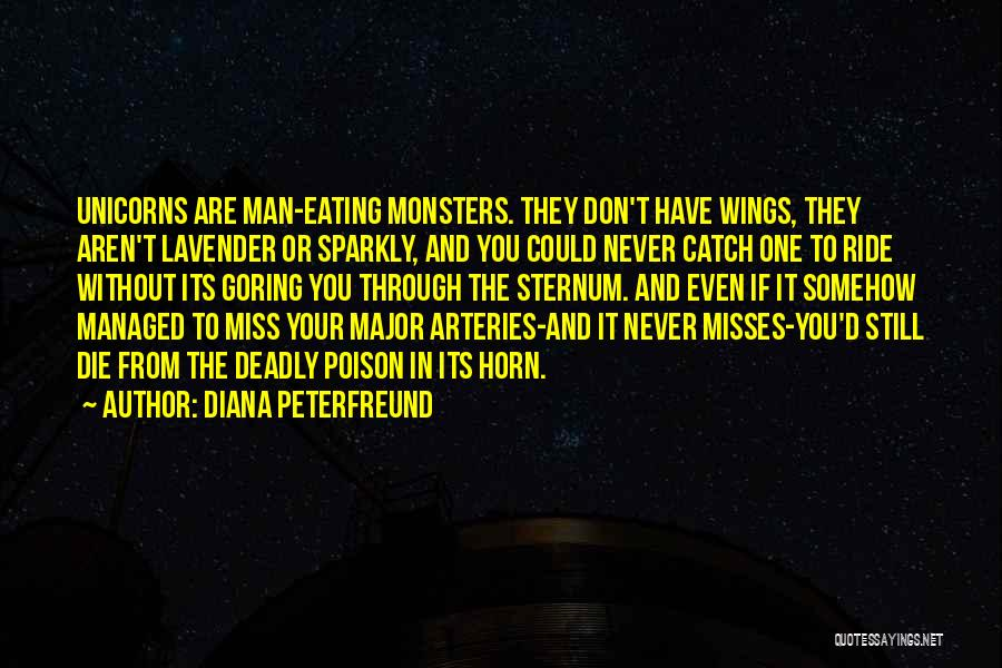 Sternum Quotes By Diana Peterfreund
