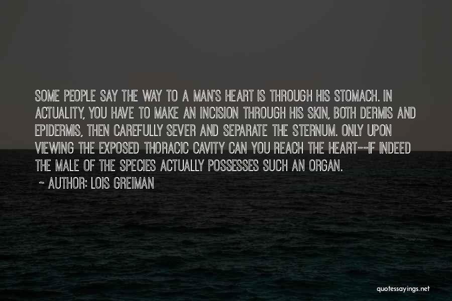 Sternum Quotes By Lois Greiman