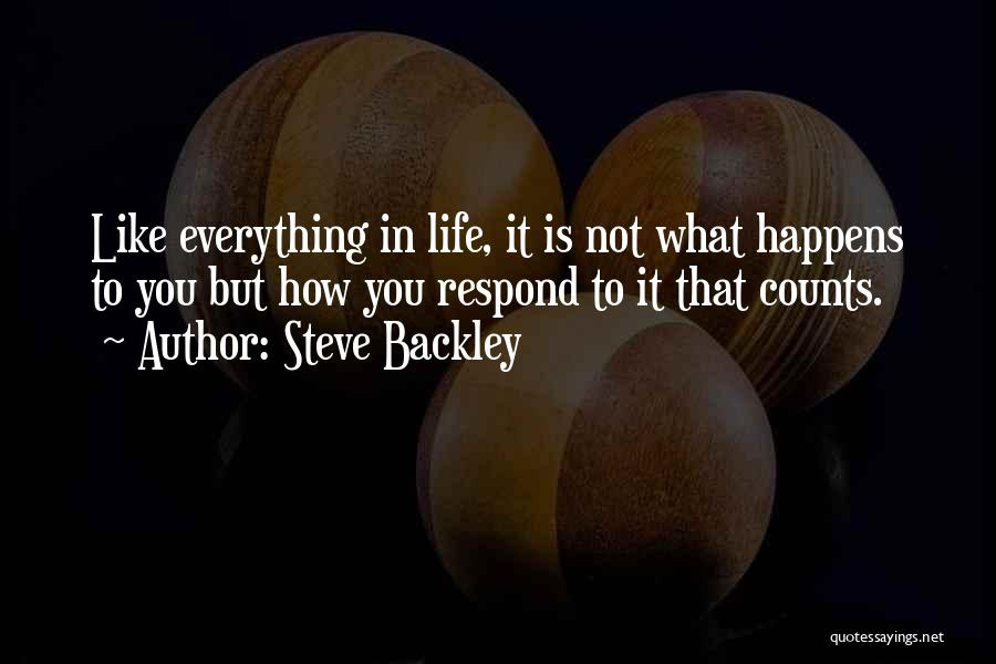 Steve Backley Quotes 875697