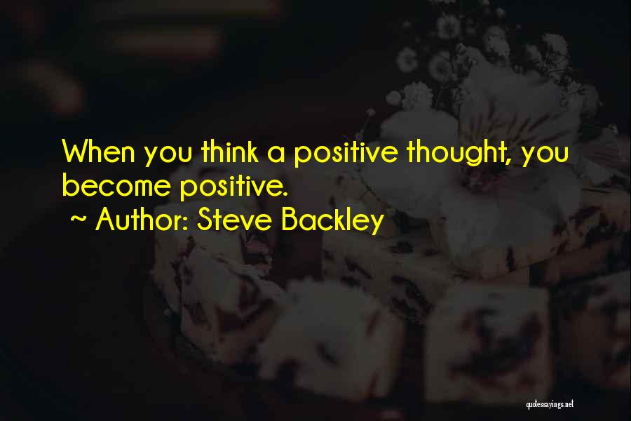 Steve Backley Quotes 912604