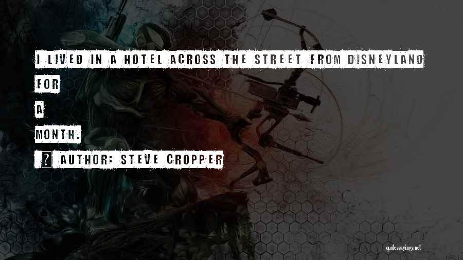 Steve Cropper Quotes 609962