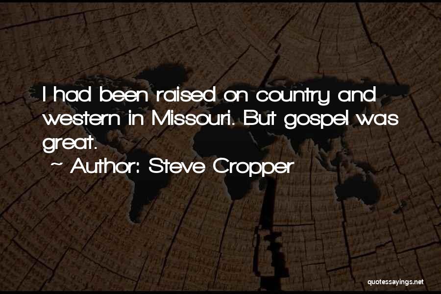Steve Cropper Quotes 892788
