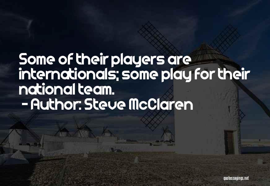 Steve McClaren Quotes 1513501
