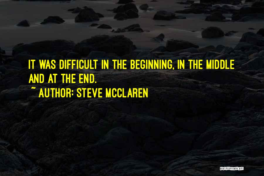 Steve McClaren Quotes 776908