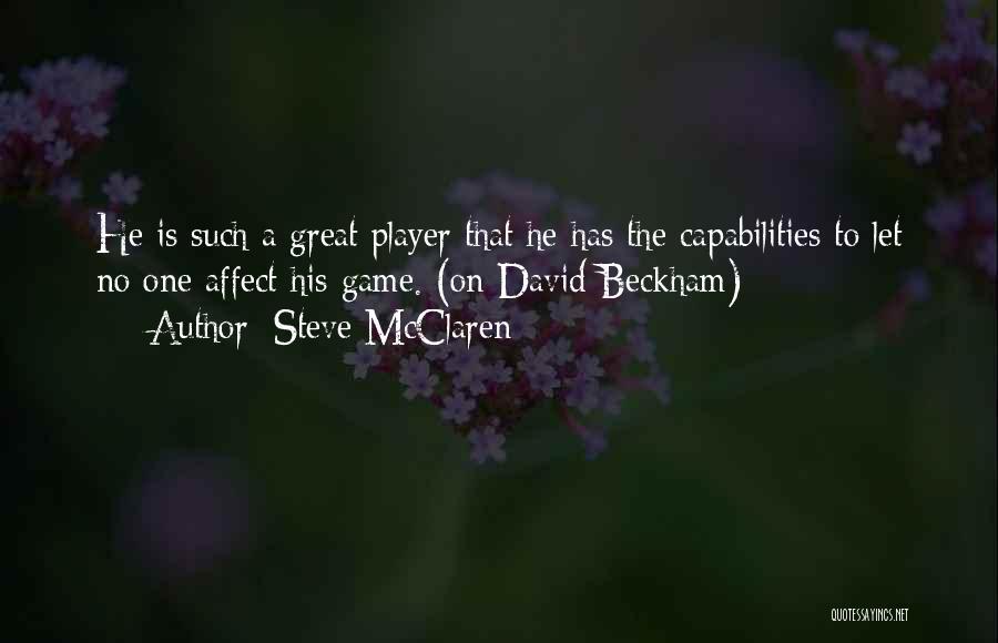 Steve McClaren Quotes 873979
