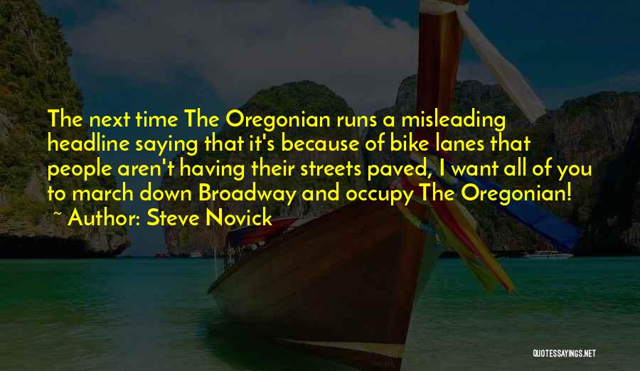 Steve Novick Quotes 359304